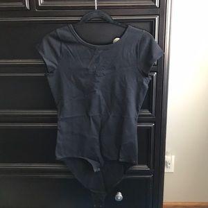 NWT, J crew black body suit